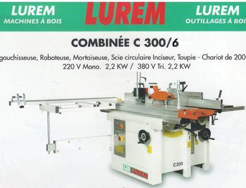 COMBINE LUREM C 300 6 OP NEUF CE