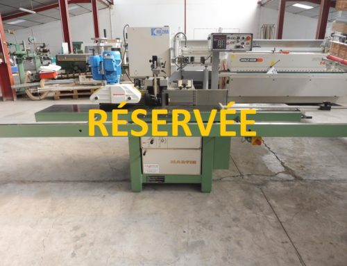 TOUPIE INCLINABLE MARTIN TYPE T 25 3 AXES