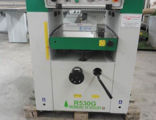 RABOTEUSE GUILLIET TYPE R 530 G SERIE GREENLINE